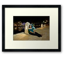 Paranormal Activity Framed Print