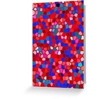 Mosaic texture  Greeting Card