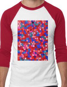 Mosaic texture  Men's Baseball ¾ T-Shirt
