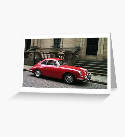Red Car Greeting Card