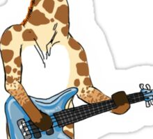 Bass Giraffe Sticker