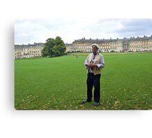 Local guide in Bath - England Canvas Print