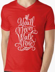 Liverpool : You'll Never Walk Alone Mens V-Neck T-Shirt