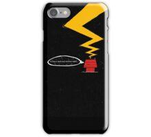 ...It wa a dark and stormy night.. iPhone Case/Skin