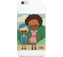 Happy kids line iPhone Case/Skin