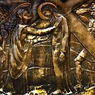 The Fourth Station Of The Cross by Al Bourassa