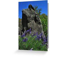 The Stone-Mariposa, Ca Greeting Card