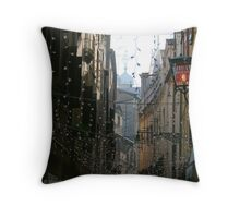 You Are Here - Venice in Christmas time Throw Pillow