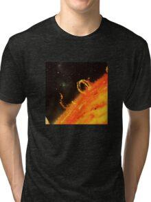 Burning the sun. Tri-blend T-Shirt