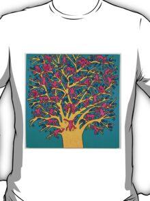 "Keith Haring, ""the tree of monkeys"" T-Shirt"