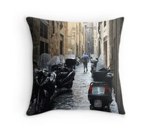 Subito! - Florence, Italy Throw Pillow