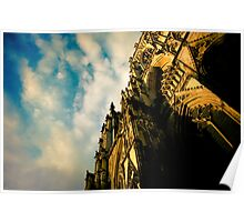 York Minster - warm sky Poster