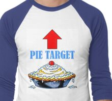 PIE TARGET shirt Men's Baseball ¾ T-Shirt