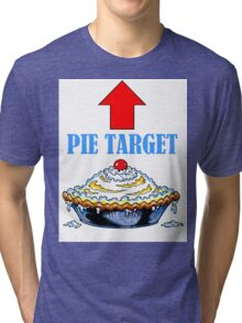 PIE TARGET shirt Tri-blend T-Shirt