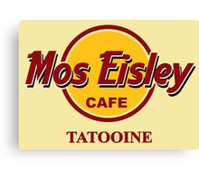 Mos Eisley Cafe Canvas Print
