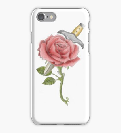 Dagger and Rose  iPhone Case/Skin
