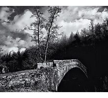 Parted by history and water Photographic Print