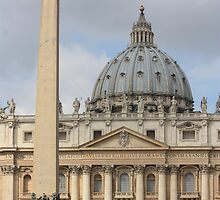 View of the Vatican by Aria Babbar