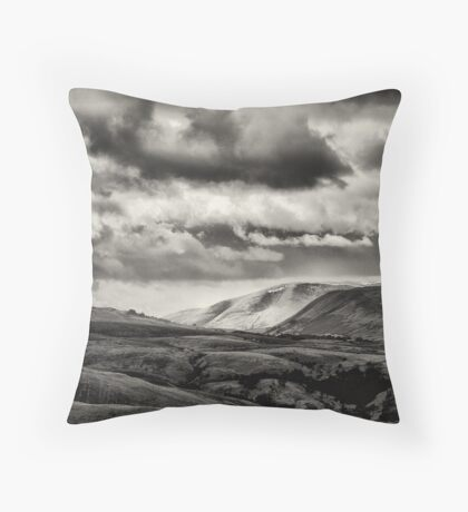 Across the edge of the Dales Throw Pillow