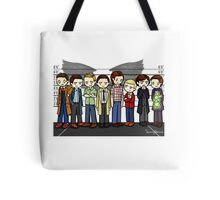 SuperWhoLock Lineup Tote Bag