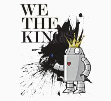 We the kings Robot Tee by Jonathon Measday