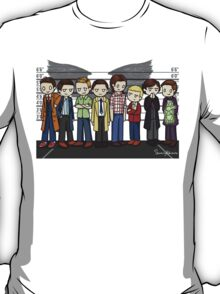 SuperWhoLock Lineup T-Shirt
