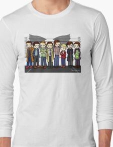 SuperWhoLock Lineup Long Sleeve T-Shirt