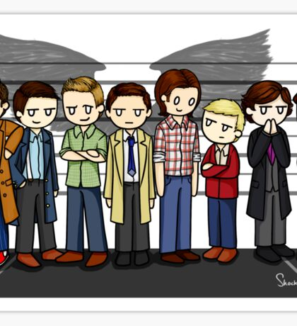 SuperWhoLock Lineup Sticker