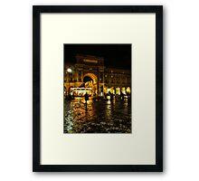 Piazza della Repubblica, Florence, Italy Framed Print