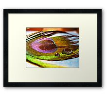existentialism on prom night  Framed Print