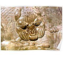 Bas-Relief in Persepolis Poster