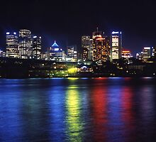 Sydney by night by supersnapper