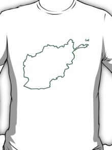 """Afghanistan """"Citizen of the Earth"""" large T-Shirt"""