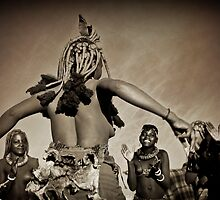 Himba Dancers | Namibia by Olwen Evans