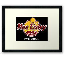Mos Eisley Cantina Framed Print