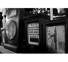 Signal Boxes Photographic Print