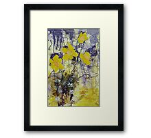 Daffodil time Framed Print