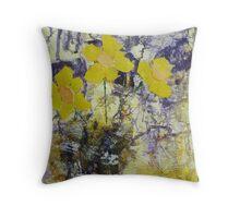 Daffodil time Throw Pillow