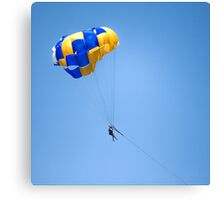Parachute fun Canvas Print