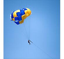 Parachute fun Photographic Print