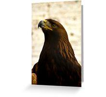 Golden Eagle #1 Greeting Card
