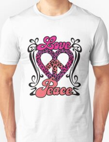 Love Peace Heart T-Shirt