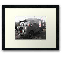 mowag ambulance Framed Print