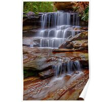 Watery cascades Poster