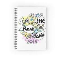 On the road again tour 2015 Spiral Notebook