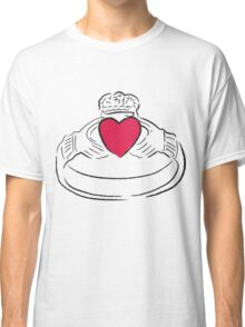 Claddagh Ring - A Token of Love Classic T-Shirt