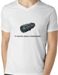 Crashzoom! It needs more! Mens V-Neck T-Shirt