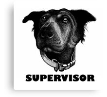 RALPH SUPERVISOR Canvas Print