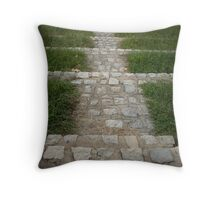 The Steps @ Dogwood Dell Throw Pillow