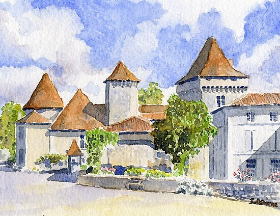 Le Vieux Château, Varaignes by ian osborne